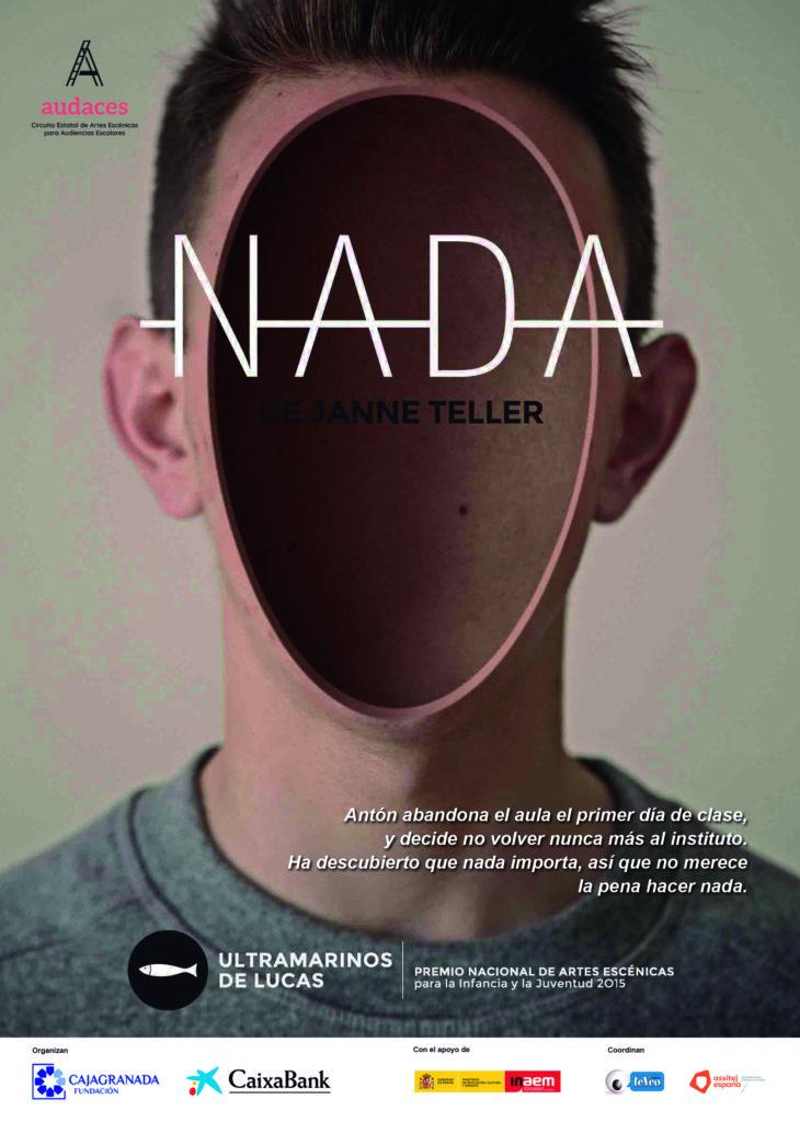 Cartel de la obra teatral 'Nada'