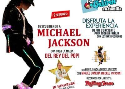 Rock N'Children en Familia. Descubriendo a Michael Jackson